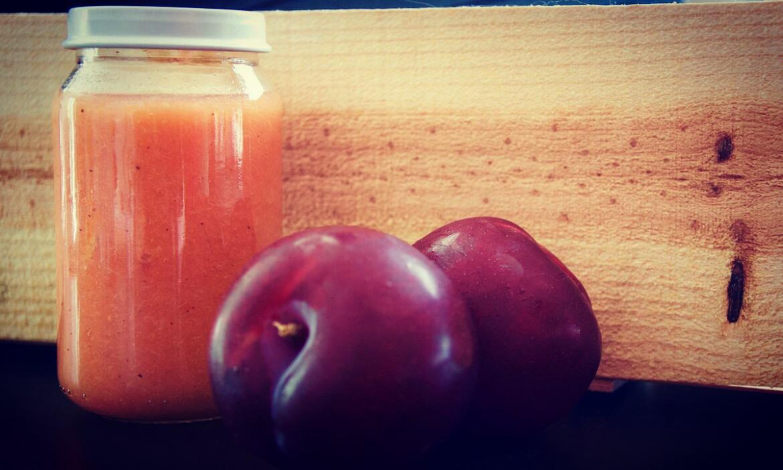 Compote de prune à la cannelle