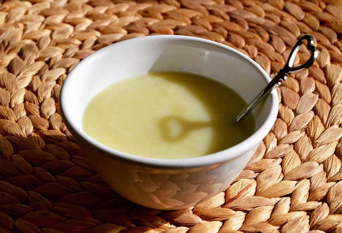 Soupe de courgette et navet pour bébé (Dès 6 mois)