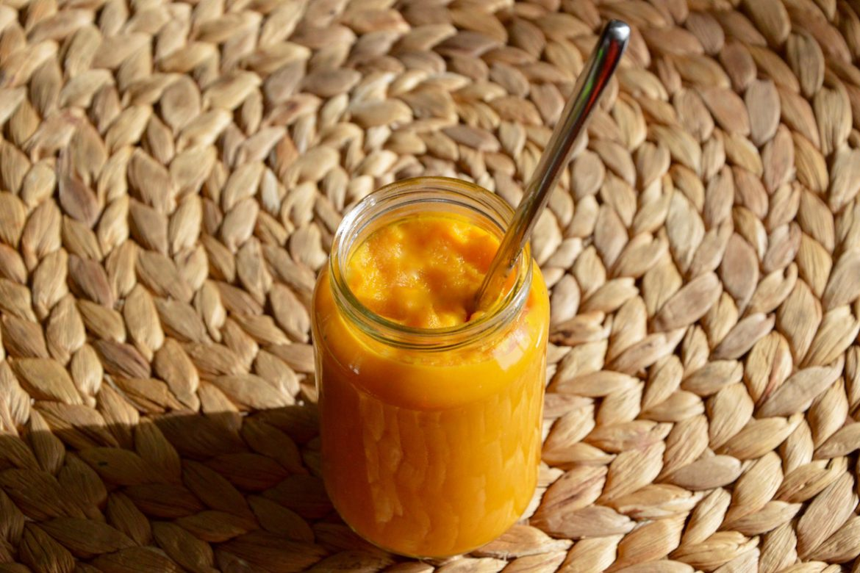 Puree carottes patate douce pour bébé