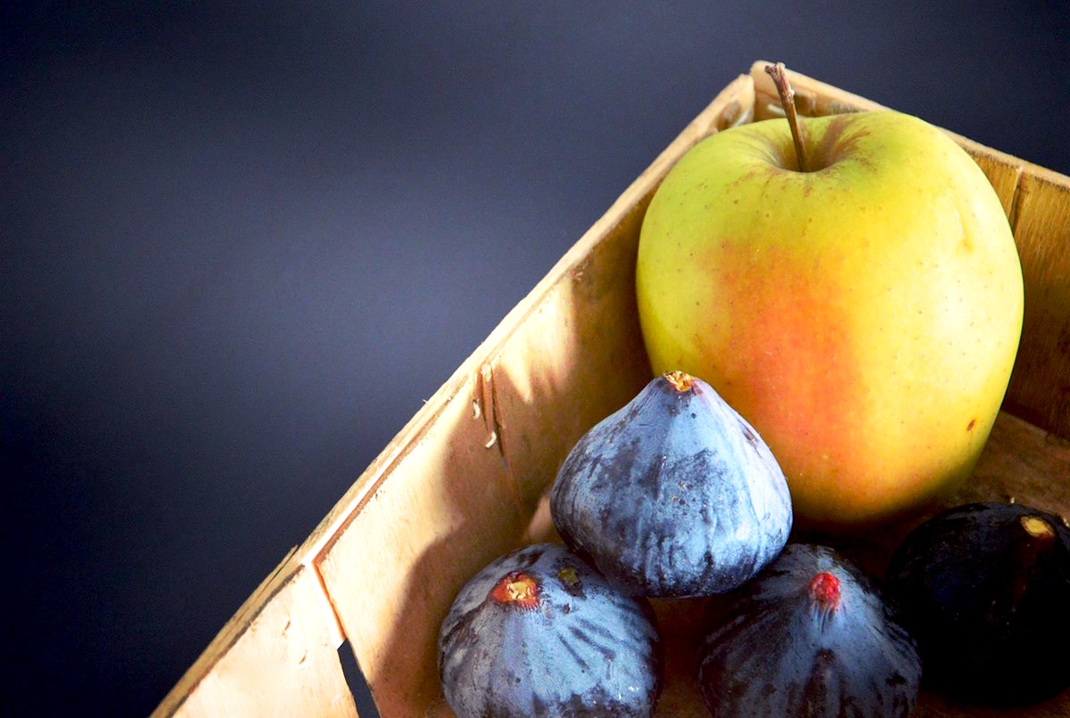 Figue et pomme pour bébé