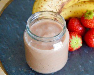 Compote fraise banane pour bébé