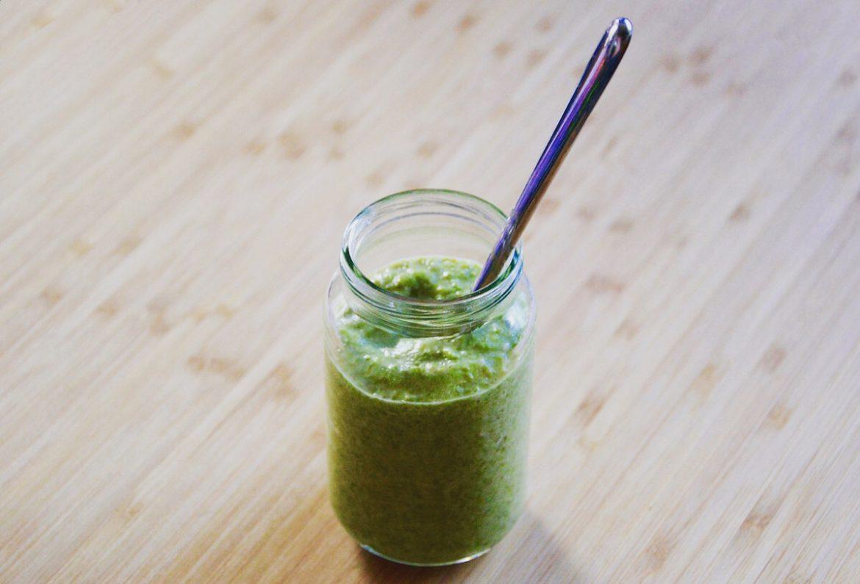 Purée de haricots verts pour bébé