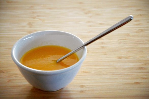 Soupe de légumes pour bébé