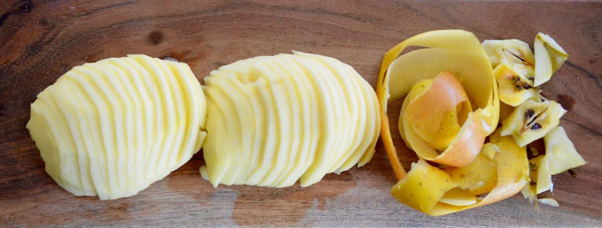 Tranches de pomme