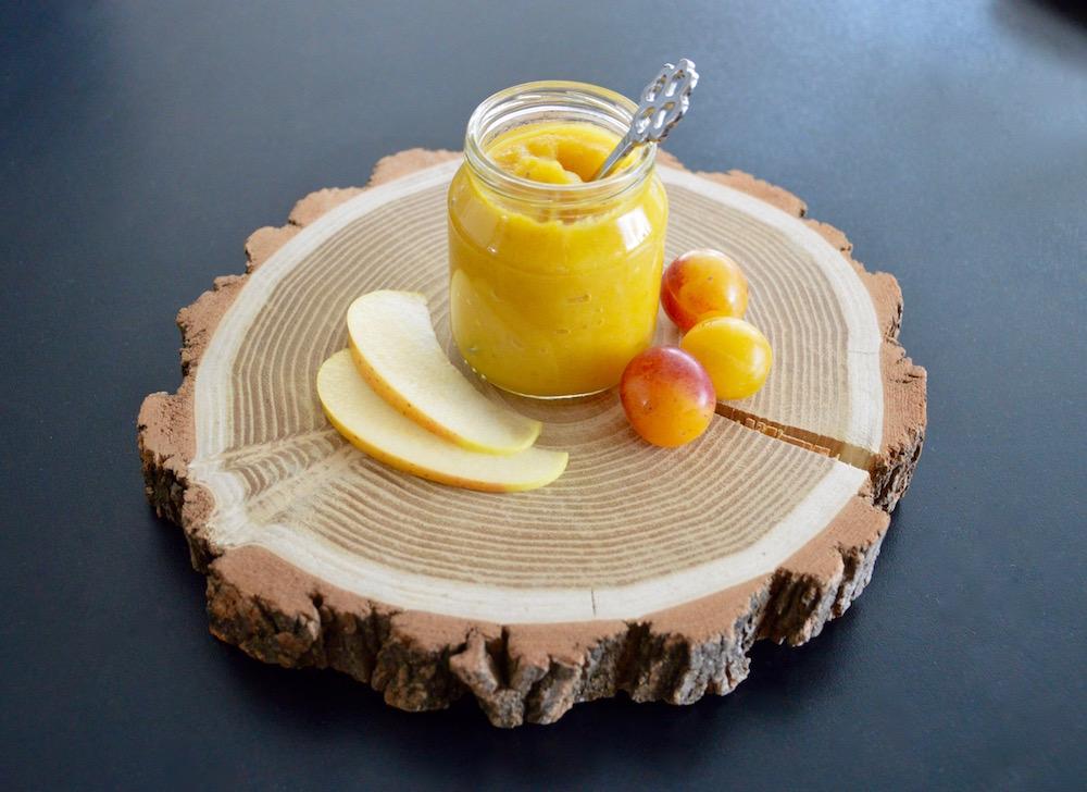 Compote bébé pomme mirabelles (Dès 4 mois)
