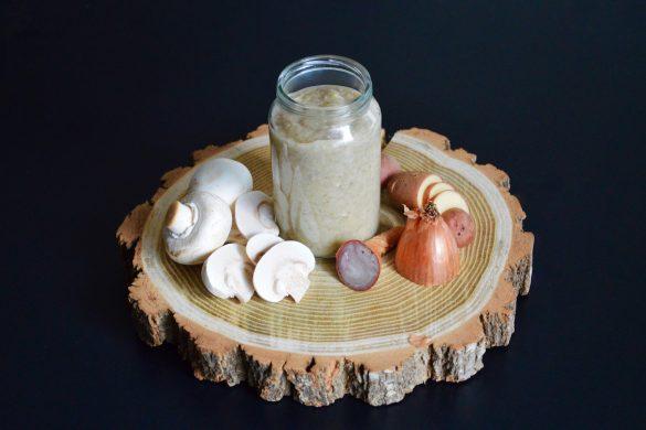 Recette de purée champignons pommes de terre et aiguillette de canard pour bébé