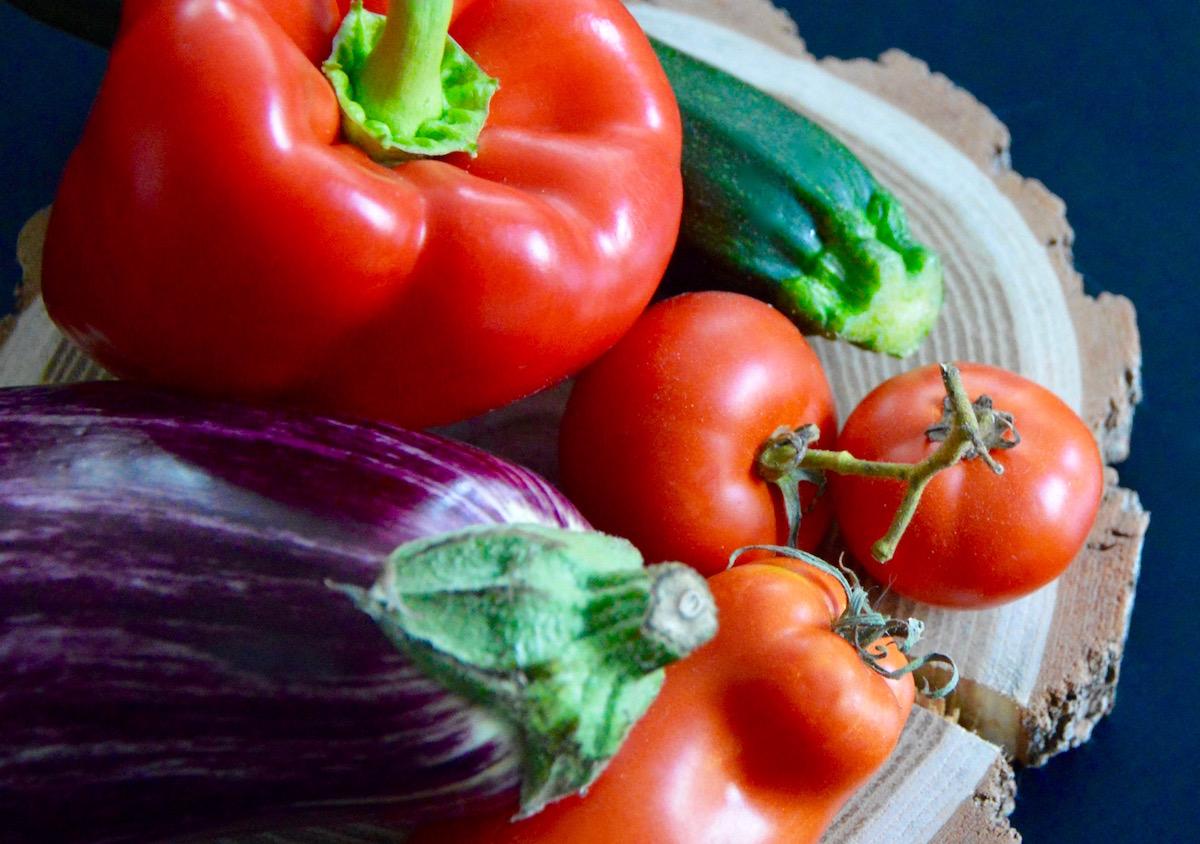 Légumes ratatouille pour bébé
