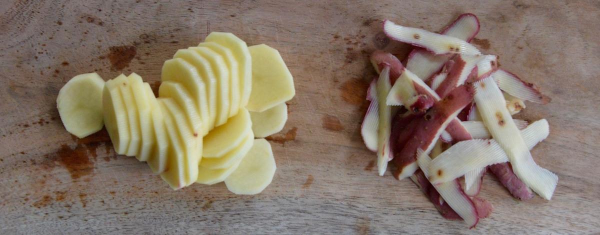 Pomme de terre pour bébé