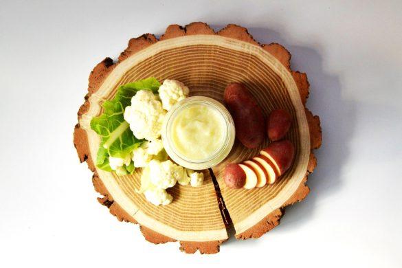 Purée de chou-fleur et pomme de terre pour bébé