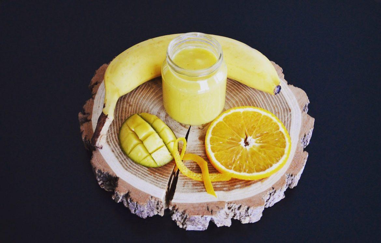 recette de compote mangue orange banane pour b b d s 6 mois. Black Bedroom Furniture Sets. Home Design Ideas