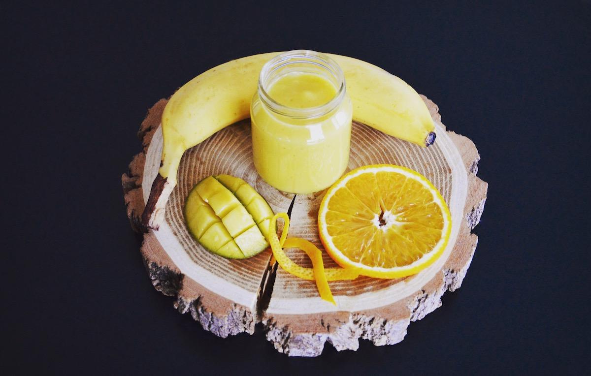 Compote mangue orange banane pour bébé (Dès 6 mois)