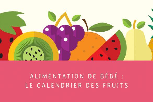 Saison des fruits pour bébé