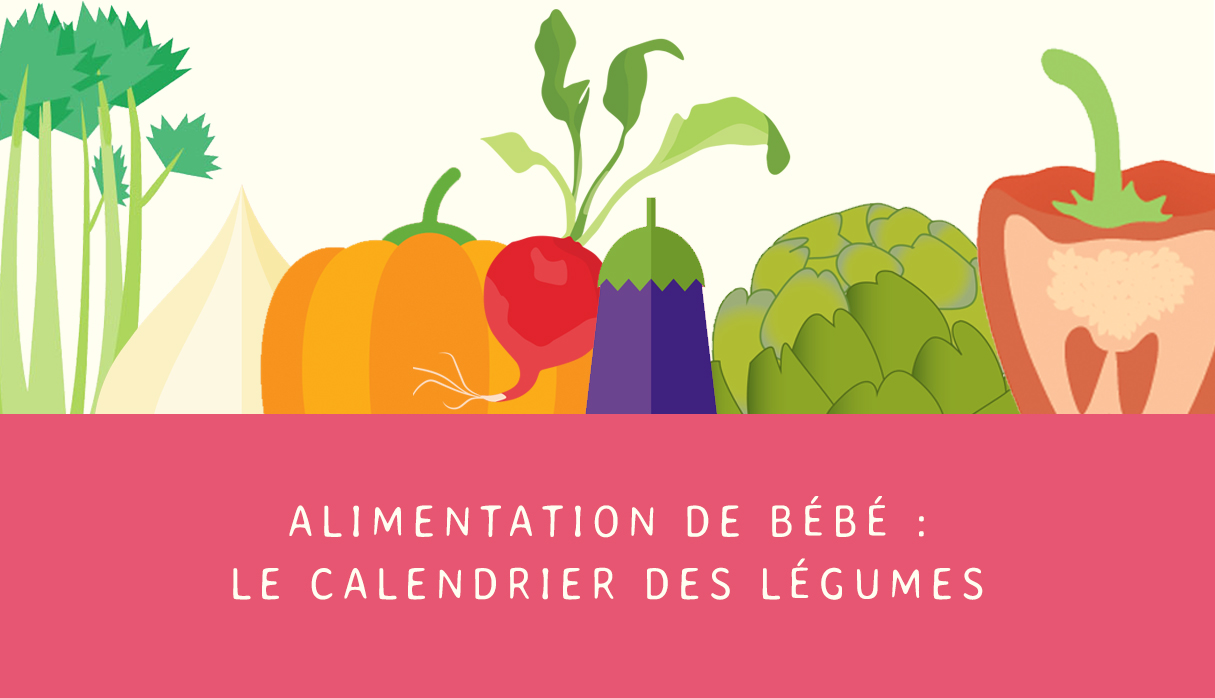 la saison des l gumes pour b b le calendrier cooking. Black Bedroom Furniture Sets. Home Design Ideas
