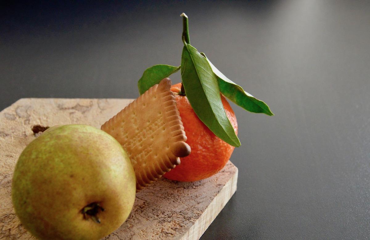 recette de compote cl mentine poire petit beurre pour b b d s 6 mois. Black Bedroom Furniture Sets. Home Design Ideas