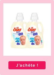 Lessive Le Chat pour bébé