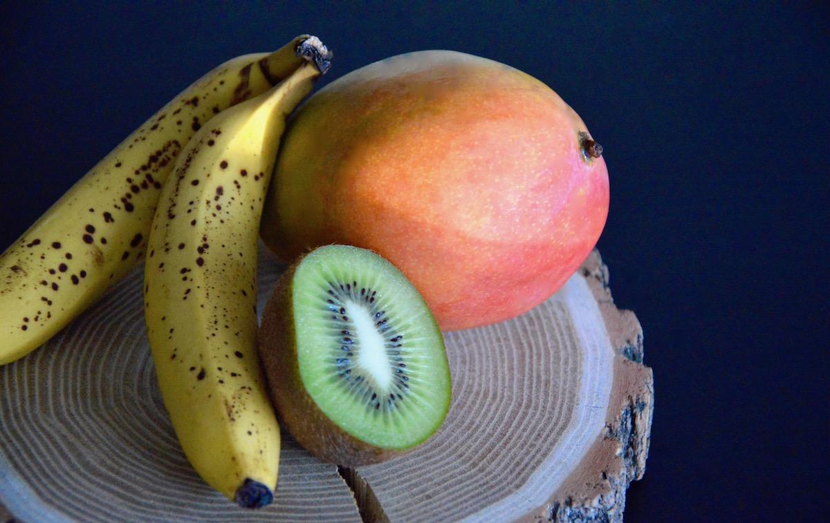 Mangue banane et Kiwi pour bébé