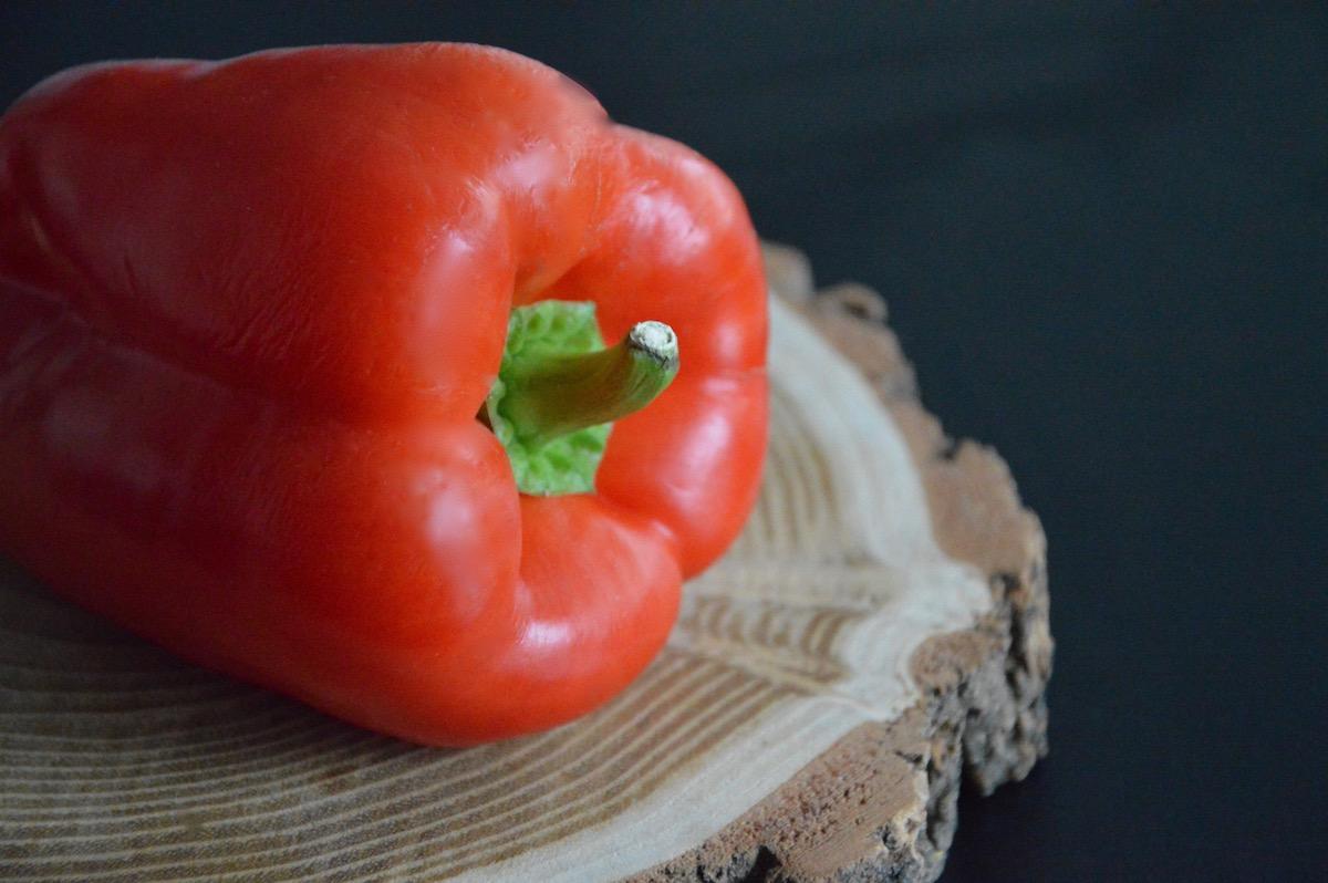 Poivron rouge pour bébé