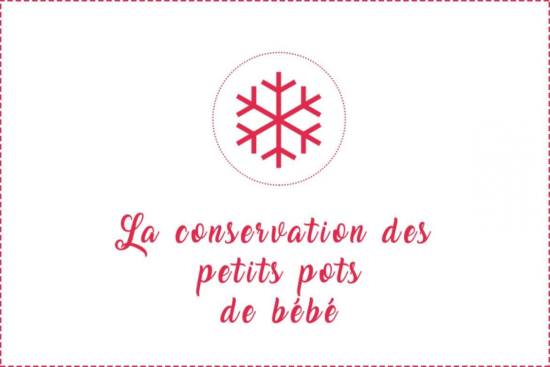 conservation des petits pots de b b r frig rateur cong lateur mat riel. Black Bedroom Furniture Sets. Home Design Ideas