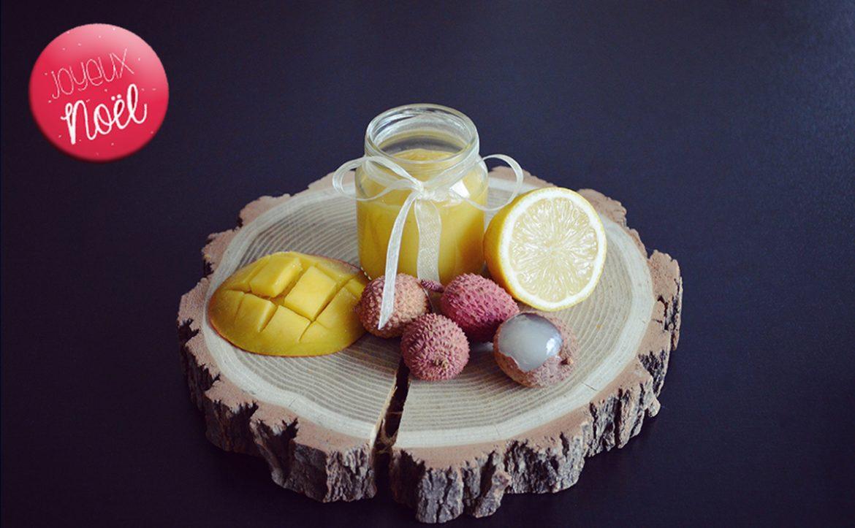recette de no l n 3 compote mangue litchi citron pour b b d s 6 mois. Black Bedroom Furniture Sets. Home Design Ideas