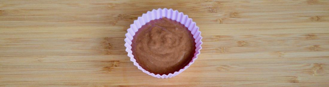 Gâteau d'anniversaire de bébé cacao banane