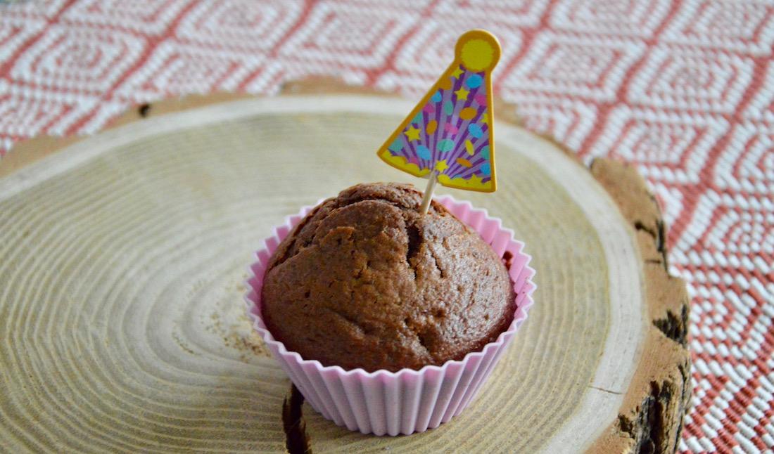 Recette du premier gâteau d'anniversaire de bébé cacao coeur fondant banane