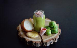 Recette bébé choux de Bruxelles pomme de terre oignon et jambon dès 8 mois