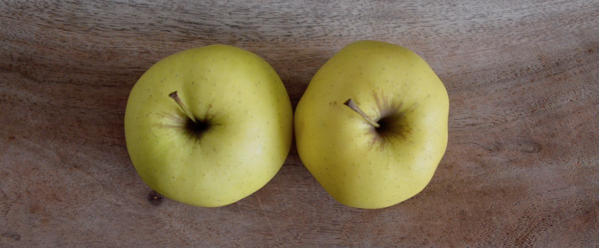 Pommes golden pour bébé