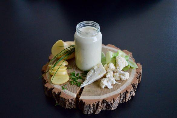 Recette bébé : velouté de chou-fleur gorgonzola et ciboulette (Dès 10 mois)