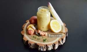 Recette de purée d'asperges blanches ciboulette citron à la truite pour bébé (Dès 9 mois)