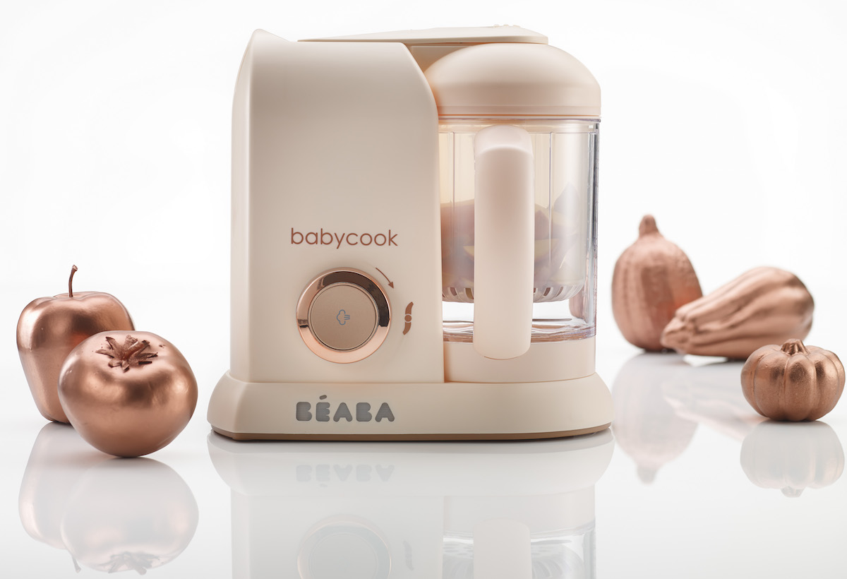 Jeu concours Béaba & Cooking for my baby : Gagnez un Babycook® Édition Limitée Pink  !