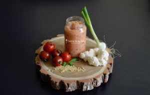 Recette pour bébé : Chou-fleur en sauce tomate basilic et petites pâtes perles (Dès 7 mois)
