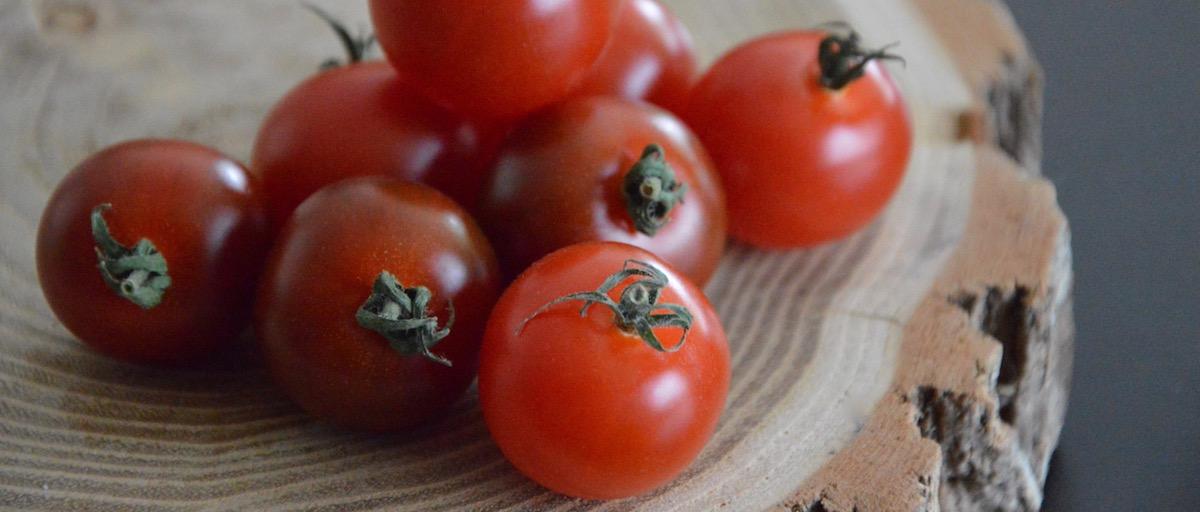 Tomates cerises pour bébé