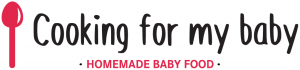 Cooking for my baby - Logo sur fond blanc