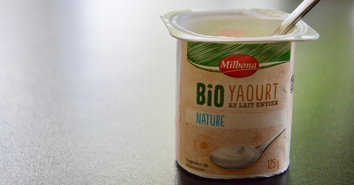 Yaourt bio nature pour muffin pour bébé