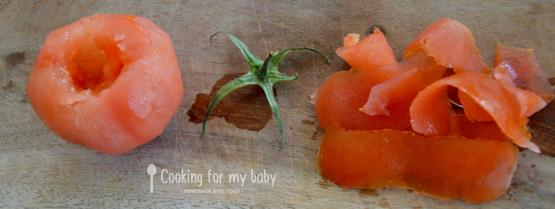 Tomate pour bébé