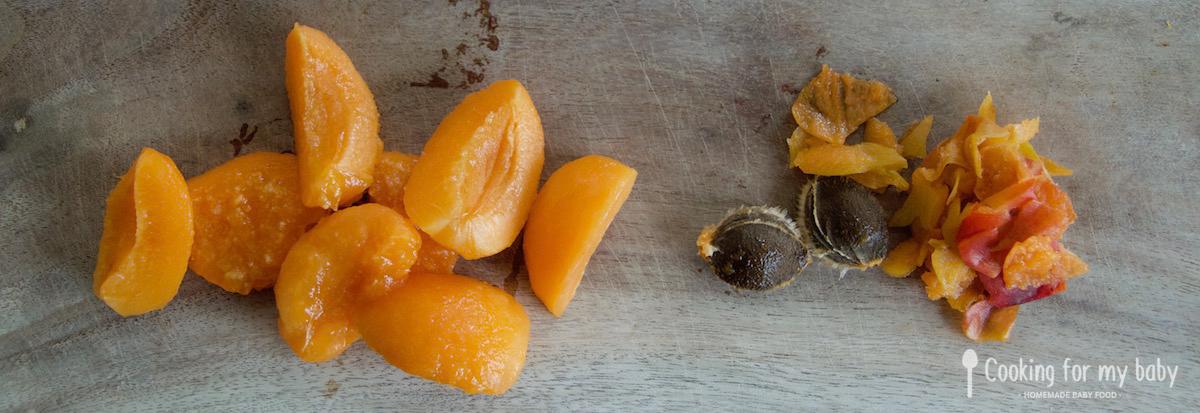 Abricot pour bébé