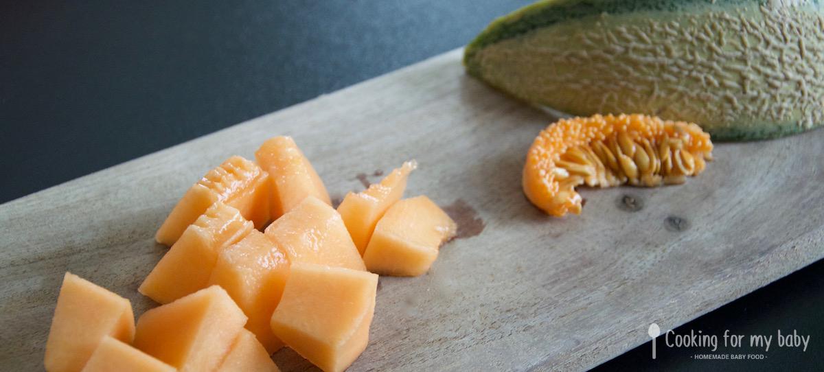 Melon pour bébé