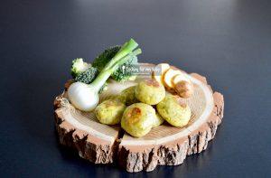Recette de boulettes brocoli pomme de terre et vache qui rit pour bébé (Dès 12 mois)