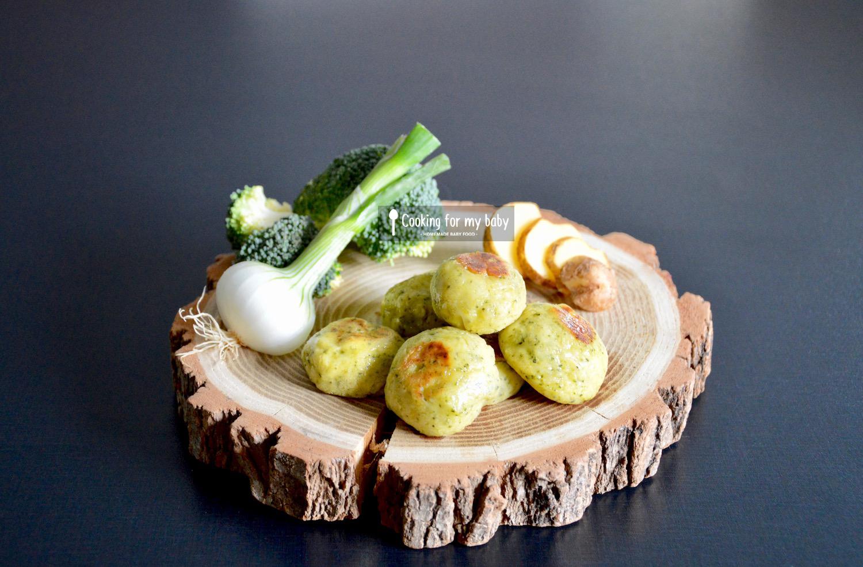Recette de boulettes de pomme de terre, brocoli et Vache qui rit pour bébé (Dès 12 mois)