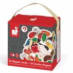 Cadeaux de Noel pour bebe des 12 mois (1 an) - Janod magnets en bois jardin
