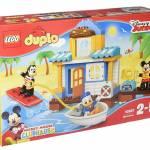 Cadeaux de Noel pour bebe des 24 mois - Lego Duplo jeu de construction la maison de mickey et ses amis