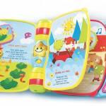 879134e61ab41d ... Cadeaux de Noel pour bebe des 6 mois - Vtech jouet musical Super livre  enchante