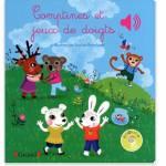 Cadeaux de Noel pour bebe des 9 mois - Livre comptines et jeux de doigts