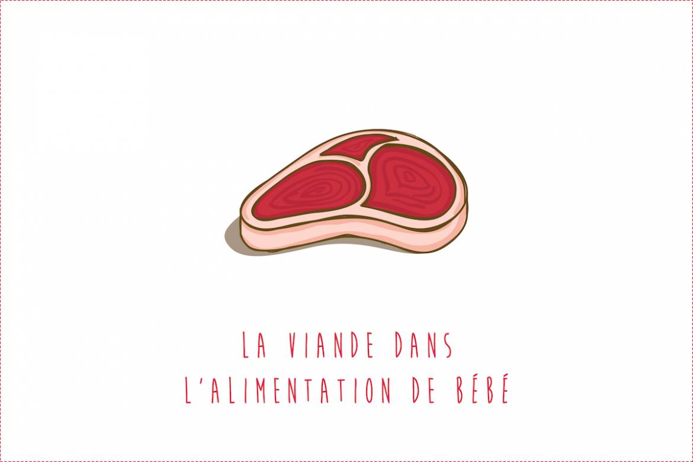 La viande dans l alimentation de b b quel ge quelle for A quel moment preparer la chambre de bebe
