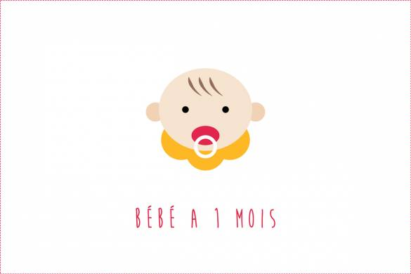 Bébé a 1 mois