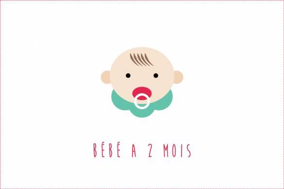 Bébé a 2 mois