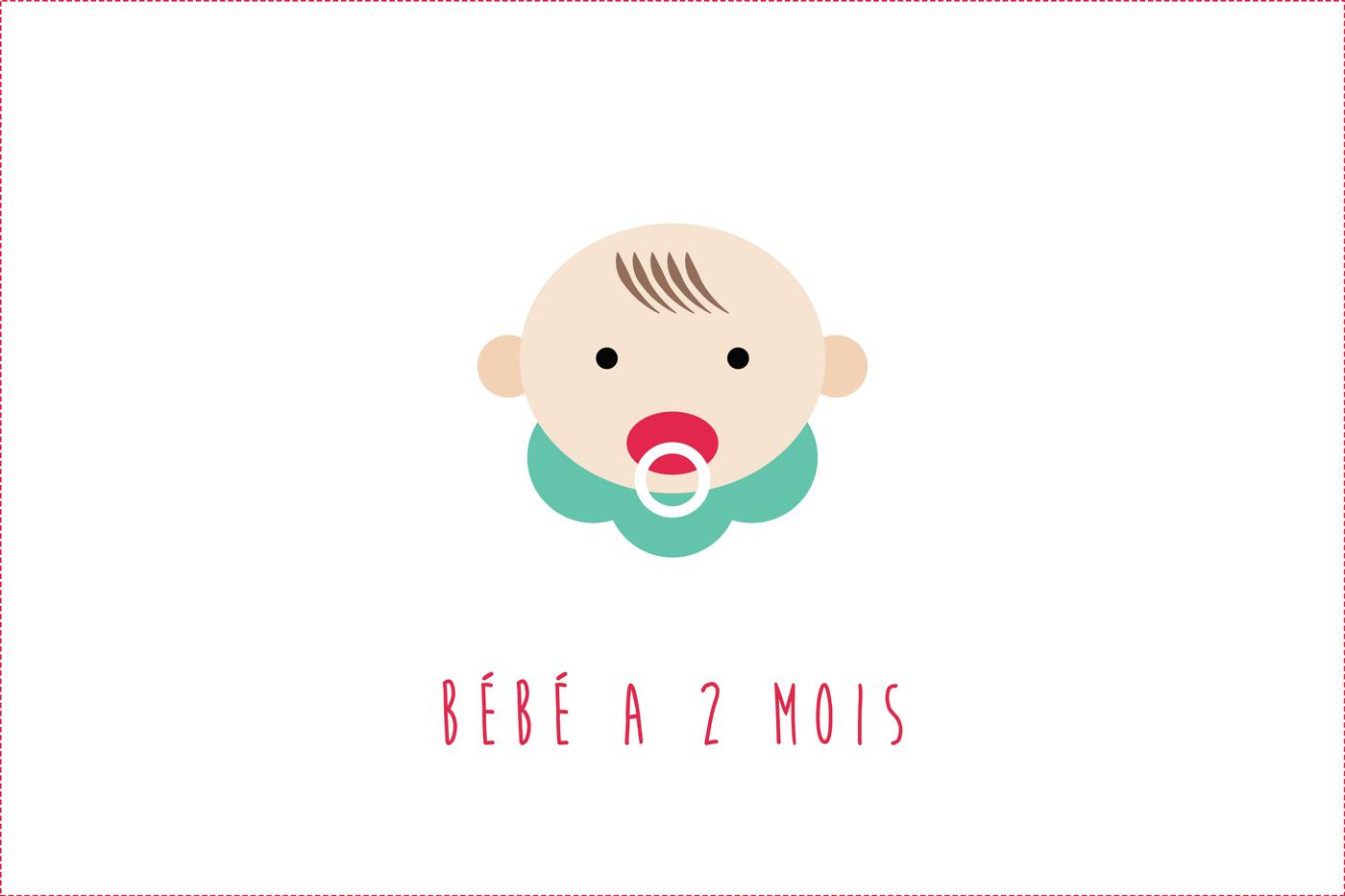 Bébé a 2 mois : Évolution, développement, éveil…