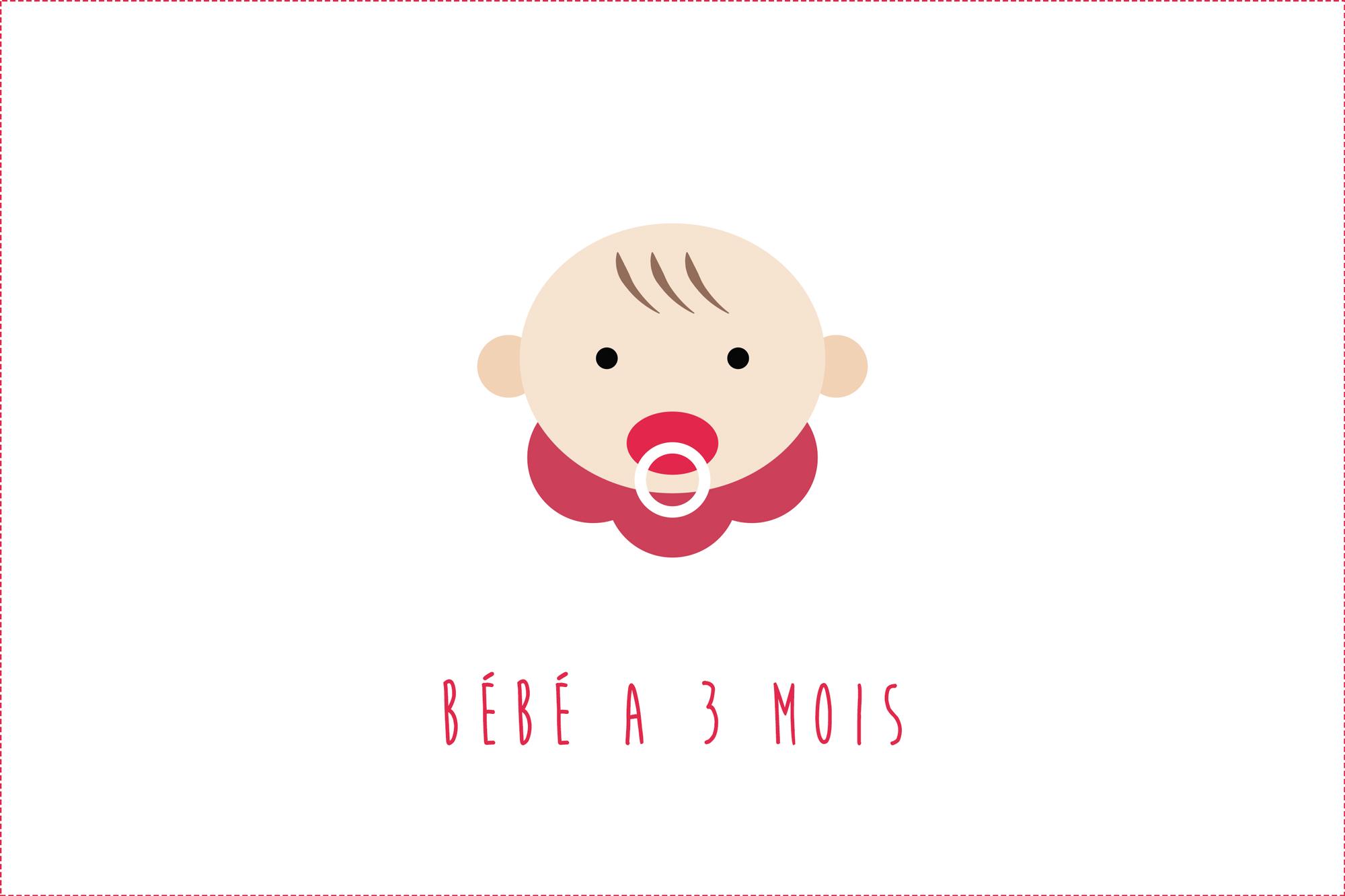 Bébé a 3 mois