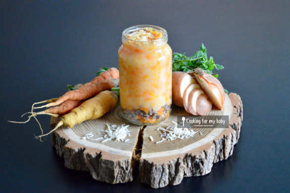 Recette de hachis parmentier pour bébé à la carotte