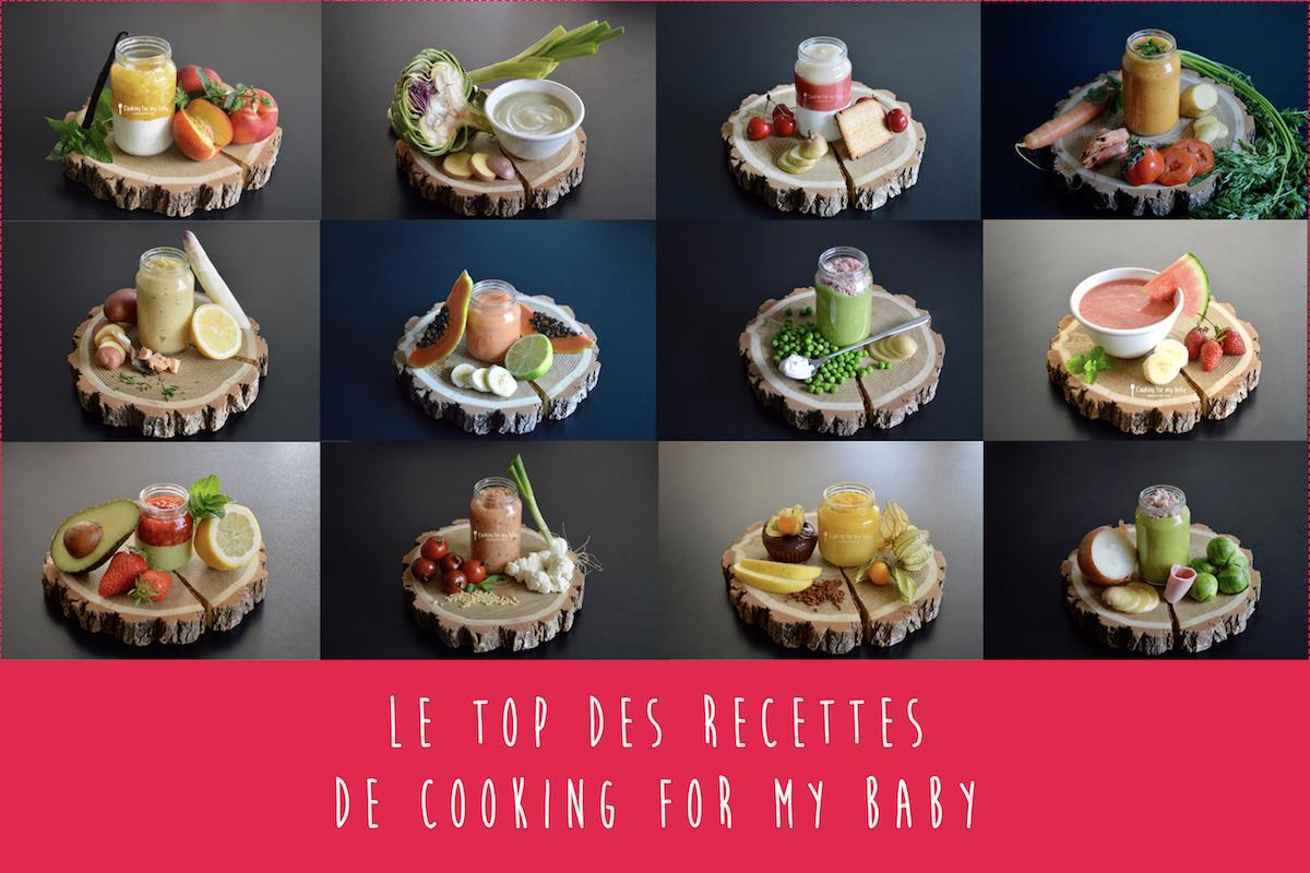 Le top des recettes pour bébé de Cooking for my baby